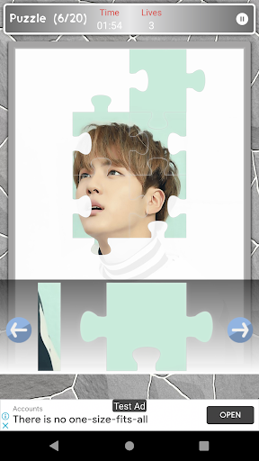 Jin BTS Game Puzzle android2mod screenshots 5