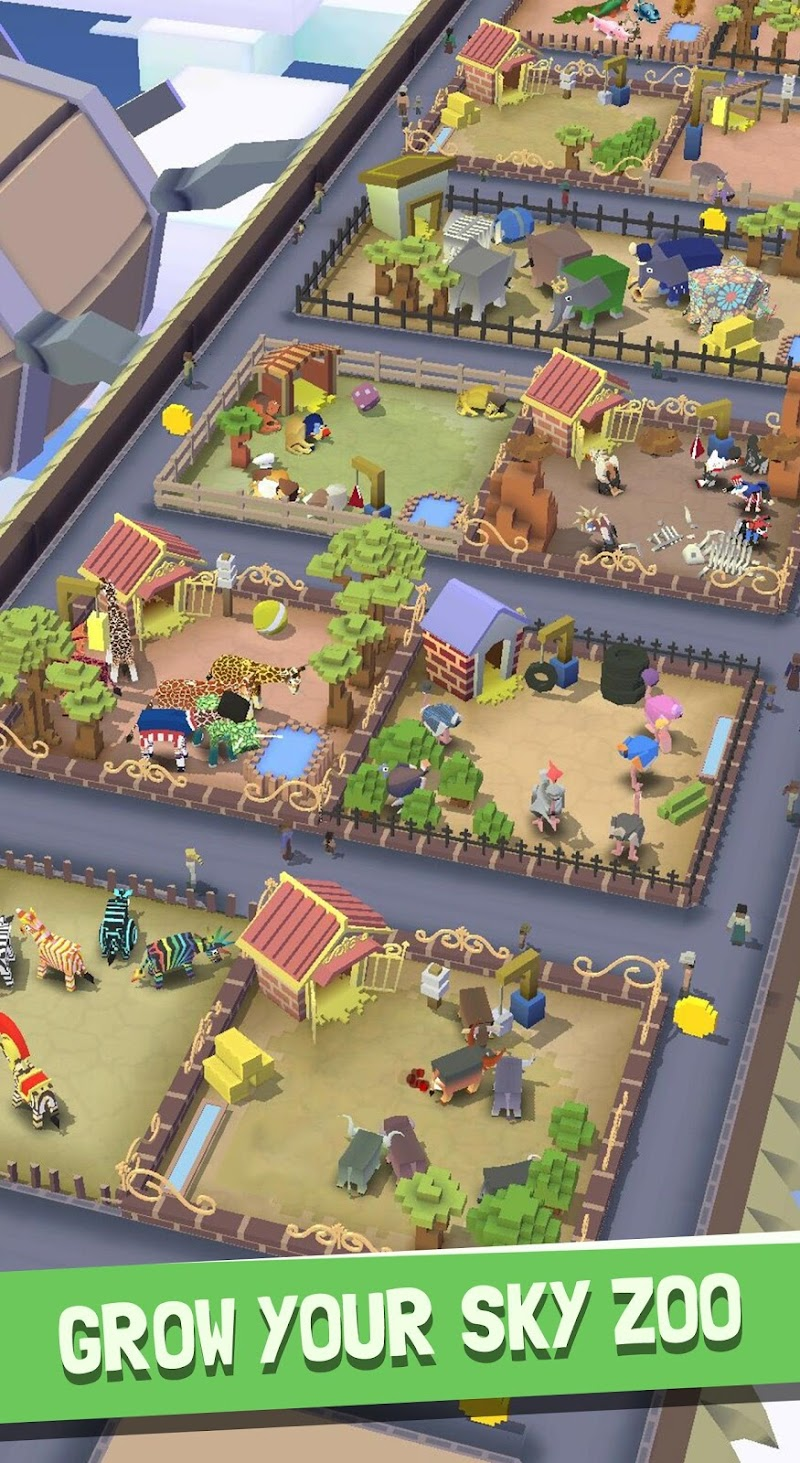 Rodeo Stampede:Sky Zoo Safari Screenshot 17