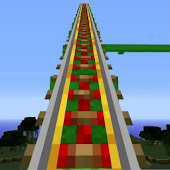Roller coaster Maps for MCPE