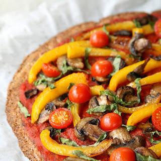 Vegan Cauliflower Pizza Crust.