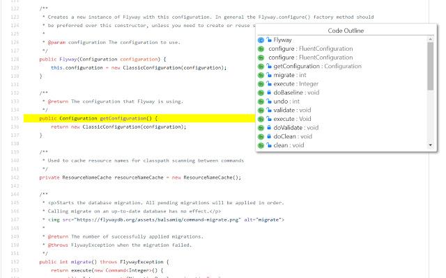 Github Code Outline