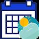 Download تقویم و پیش بینی آب و هوا For PC Windows and Mac