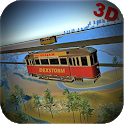 Real Sky Tram Cable Car Driving: Tourist Simulator icon