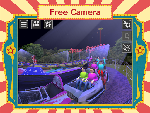 Screenshot for Love Express Simulator - Funfair Amusement Parks in United States Play Store