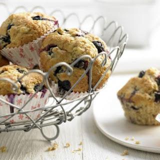 Blueberry Banana Muffins.