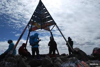 Photo: la cumbre del Toubkal 4.167 m.