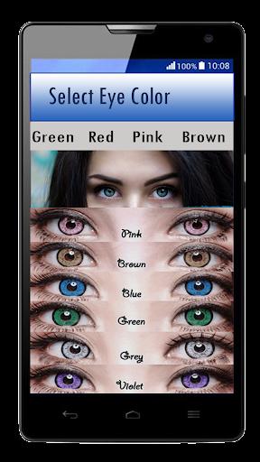 Eye Color Changer u2013 Eye Lens Photo Editor  screenshots 5