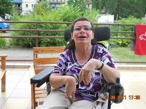 Photo: 13 VI 2011 roku - Artur pożyczył mi wózek akumulatorowy