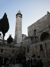 Photo: Outside the chuch of the Holy Sepulchre
