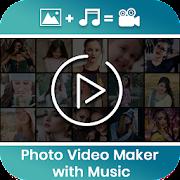 Photo video maker with Music : Photo Slideshow