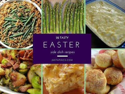 22 Tasty Easter Side Dishes
