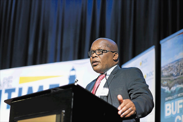 Buffalo City Metro's executive mayor Xola Pakati