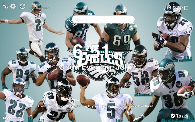 Philadelphia Eagles Nfl Wallpapers New Tab