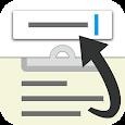 Slide Clipboard ⇅ icon