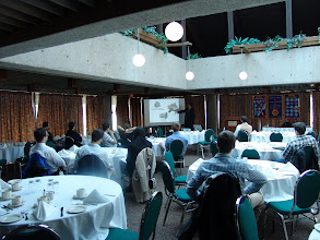 Photo: Joel Primeau's tech session on Chilled Water Systems was attended by about 20 people