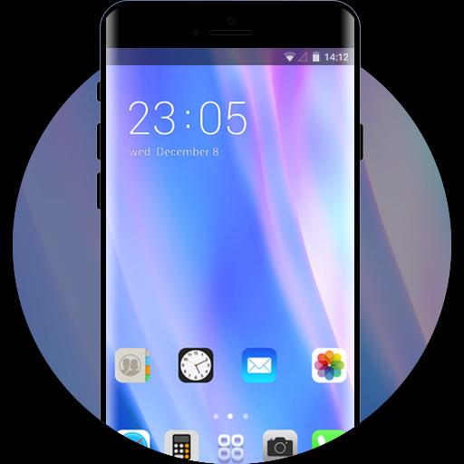 App Insights Theme For Iphone X Neon Silk Wallpaper Icon Apptopia