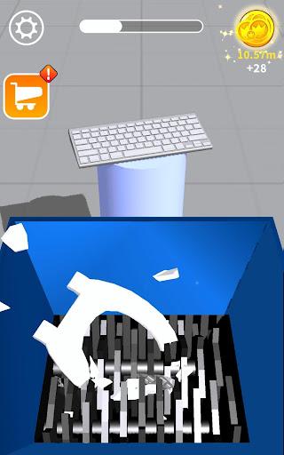 Will It Shred? Satisfying ASMR Shredding Game screenshot 11