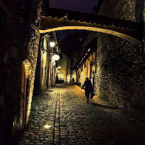 St Catherine's Passage, Tallinn by Elliot Moore - City,  Street & Park  Historic Districts ( tallinn )