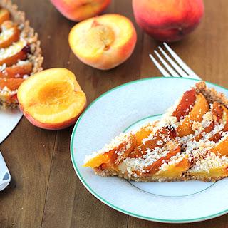 Baked Peach Tart