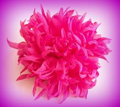 Photo: Цветы из ткани. Хризантема-к. Автор Татьяна-63