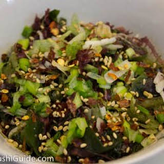 Seaweed Salad Recipe (with Miso-Sesame Dressing).