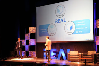 Photo: Robert Shear and Alonzo Addison at main stage #REAL2015