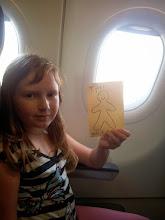 Photo: #FlatTyler on a plane