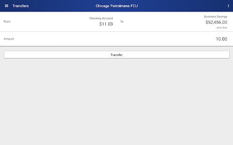 Chicago Patrolmen's FCU screenshot 12
