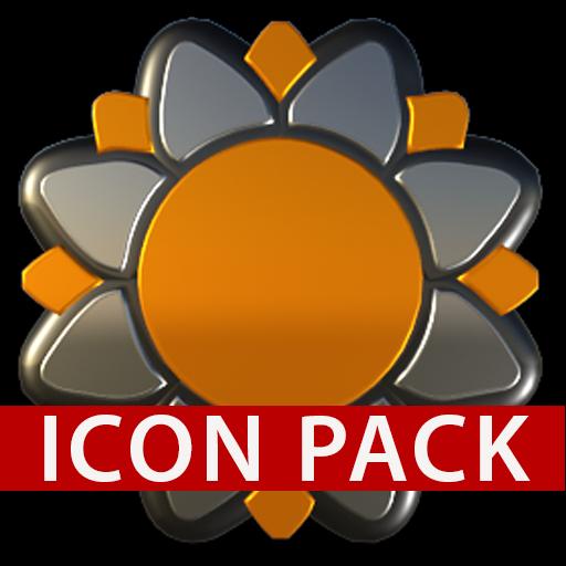SUN SET HD Icon Pack orange
