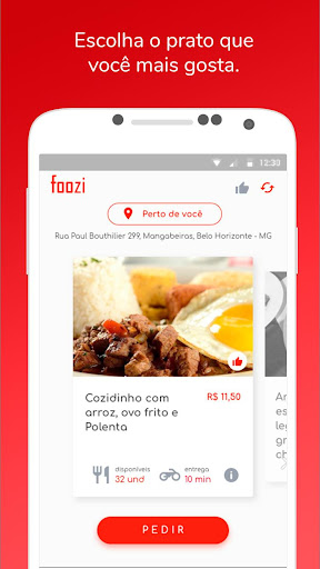 Foozi - Seu prato na hora screenshot