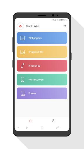 CREATIVE: Wallpapers, Ringtones and Homescreen 1.3.0.6 screenshots 1