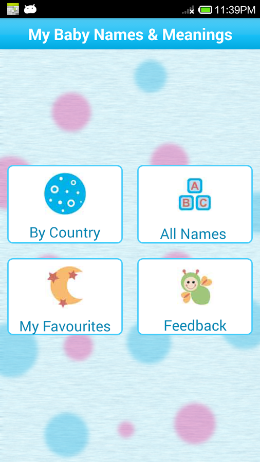 Baby Names And Meanings FREE Screenshot