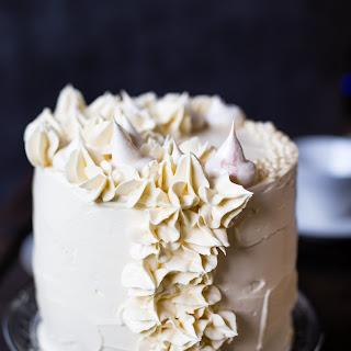 Earl Grey Meringue Cake