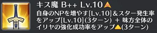 キス魔[B++]