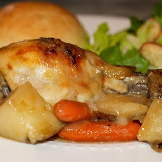 Baked Chicken With Potatoes And Carrots Recipes