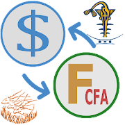 CFA franc to US Dollar converter
