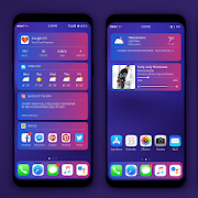 IOS CONCEPT Theme For KLWP