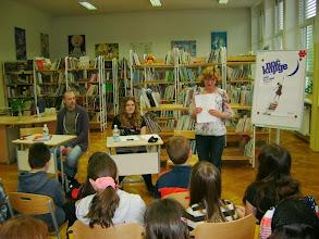 Photo: S pisateljema v Noč knjige na IV. osnovni šoli Celje. (Foto Ksenija Leskovšek Korber)  http://www.o-4os.ce.edus.si/razno/2014/vecer_branja/index.html