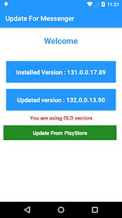 Update for Messenger