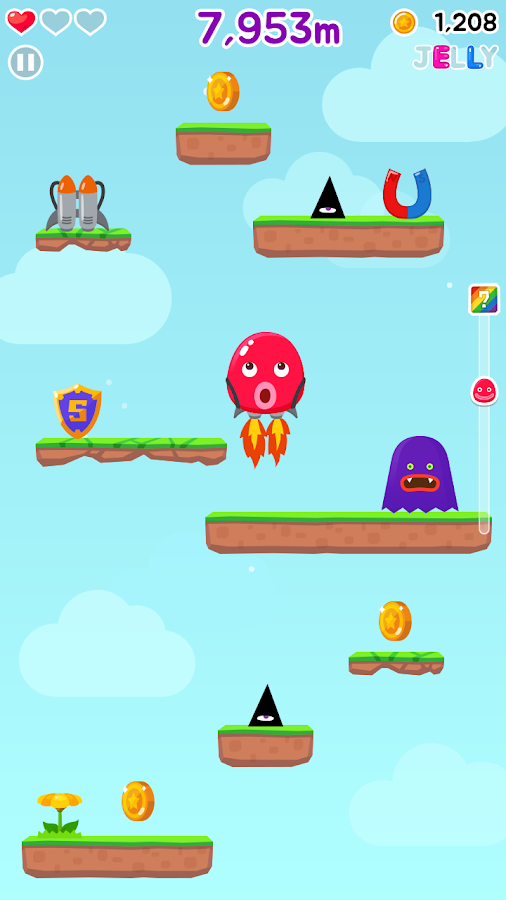 JellyKing : God of Jump- screenshot