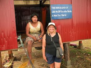 Photo: Sa Ngem and new house with Lisa McCoy