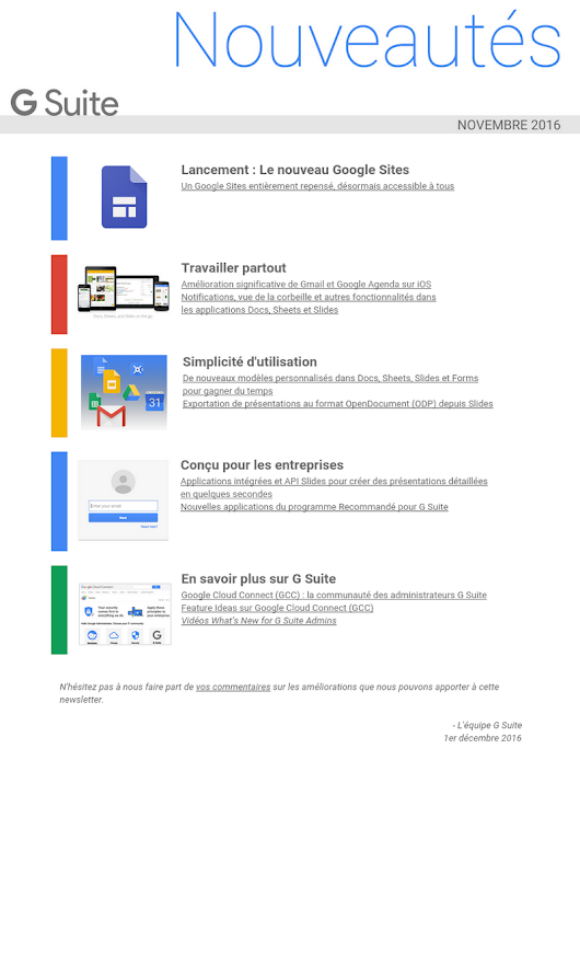 fr_What's New in G Suite - Recap of November 2016