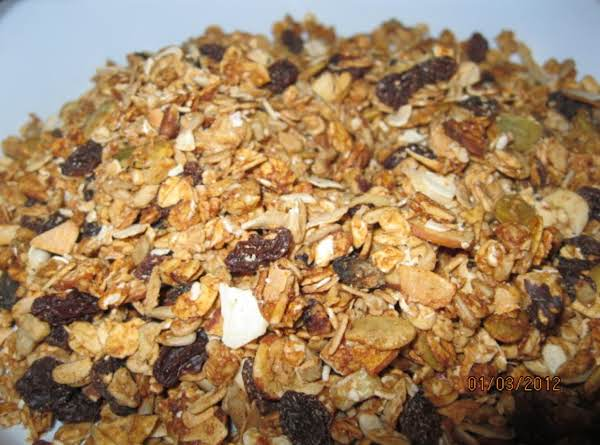 Granola With Blessings, From A Dear Friend Recipe