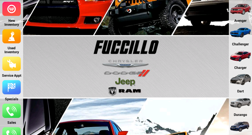 Fuccillo Dodge Chrysler Jeep- screenshot