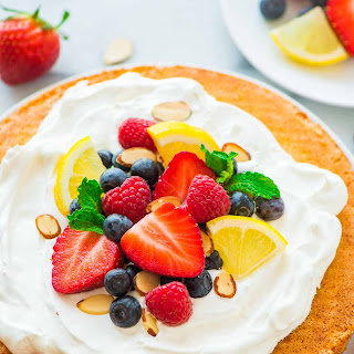 Almond Flour Cake with Lemon.