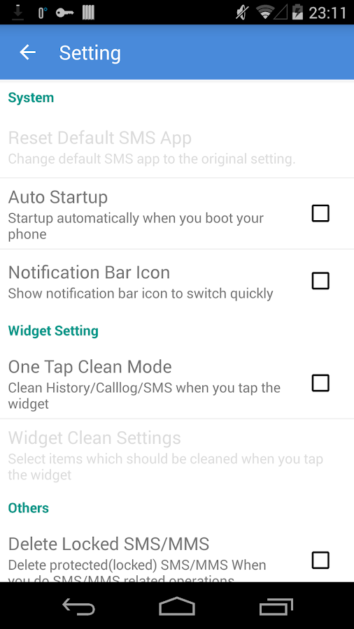 History Eraser - Privacy Clean- screenshot