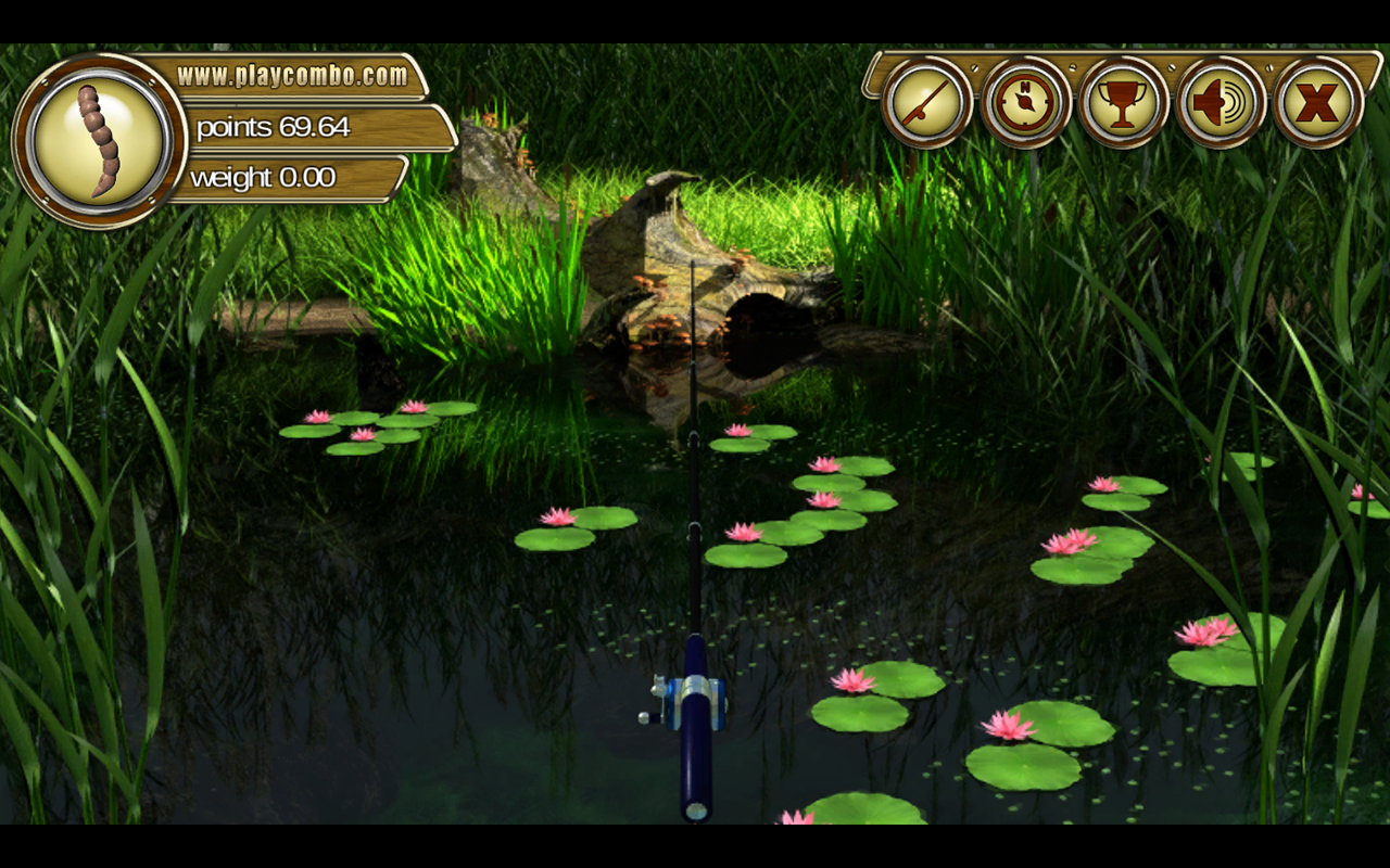 Backwater Fishing- screenshot