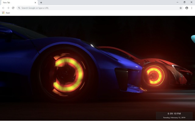 Driveclub New Tab & Wallpapers Collection