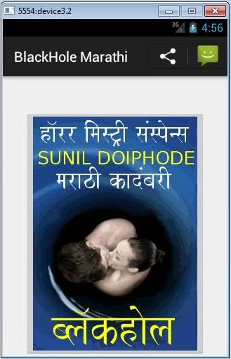 Black Hole - Marathi Novel
