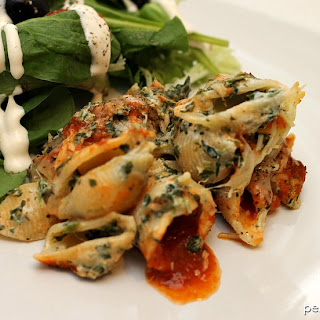 Spinach Unstuffed Shells